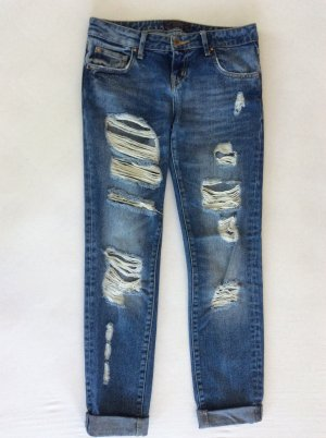 Zerrissene Boyfriend Jeans