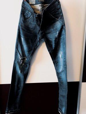 Zhrill Jeans cigarette bleu foncé
