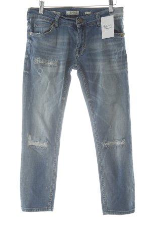 Zhrill Skinny Jeans blau Casual-Look