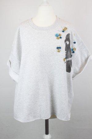 Sweatshirt veelkleurig Gemengd weefsel