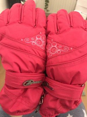 Ziener Gloves dark grey-magenta