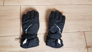 Ziener Thermal Gloves black-white leather