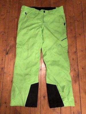 Ziener Snow Pants neon green