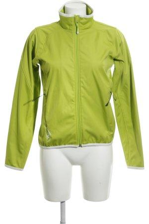 Ziener Softshelljacke grün sportlicher Stil