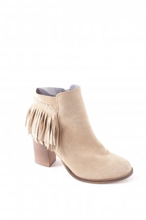 Zign Ankle Boots beige Boho-Look
