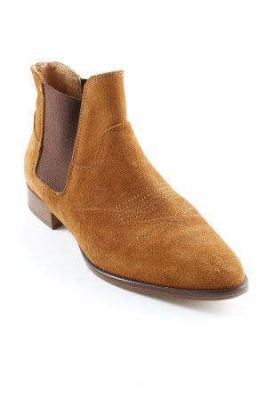 Zign Booties cognac-braun Casual-Look