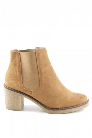 Zign Chelsea Boots light brown simple style
