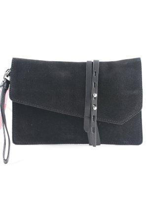 Zign Clutch schwarz Elegant