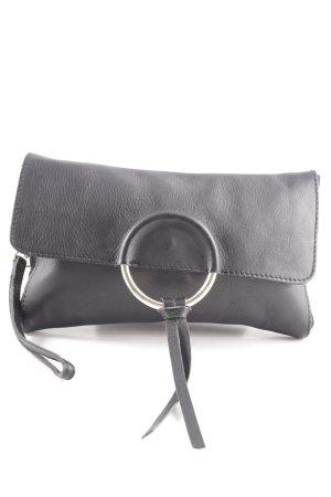 Zign Clutch schwarz schlichter Stil