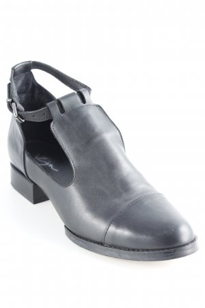 Zign Cut-Out-Stiefeletten schwarz Business-Look