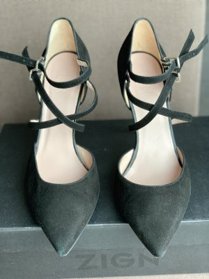 ZIGN Damen Pumps Schuhe High Heels in schwarz, Gr. 41 *top*