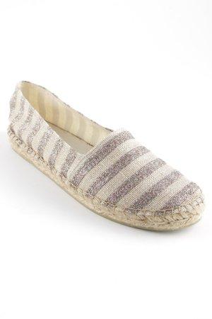 Zign Espadrille sandalen beige gestreept patroon Beach-look
