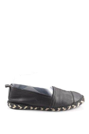 Zign Espadrille Sandals black casual look