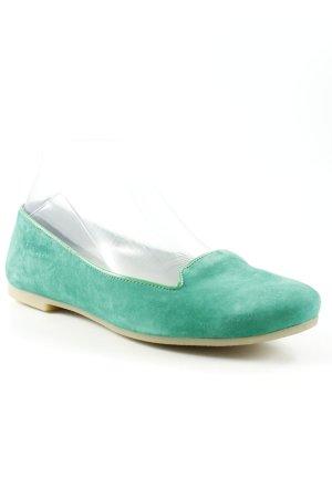 Zign faltbare Ballerinas grün Casual-Look