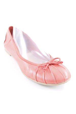 Zign faltbare Ballerinas lachs-beige klassischer Stil