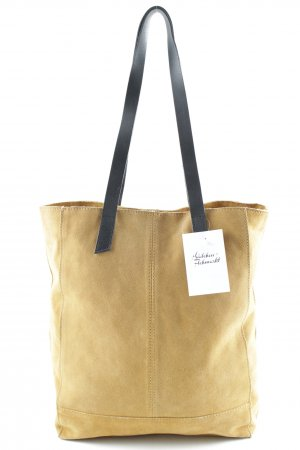 Zign Handtasche camel-schwarz Casual-Look