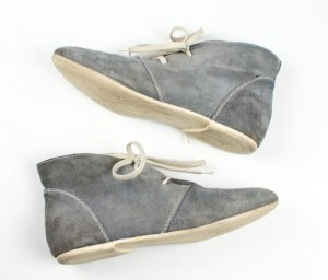 Zign Desert Boots silver-colored suede