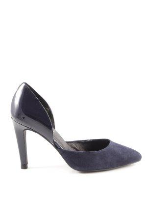 Zign High Heels dunkelblau Business-Look
