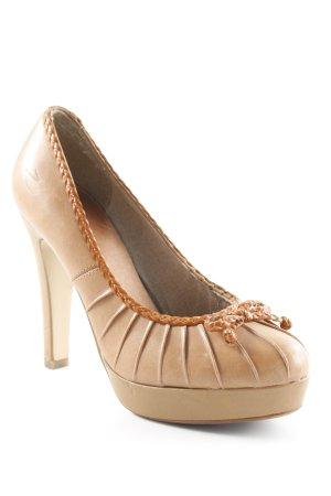 Zign High Heels hellbraun-cognac Casual-Look