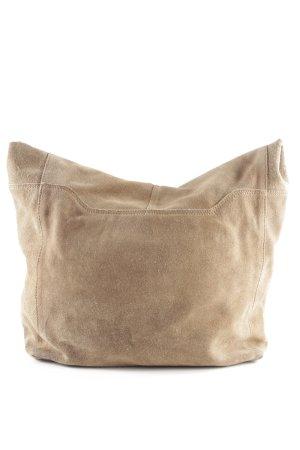 Zign Sacchetto di tela marrone chiaro stile casual