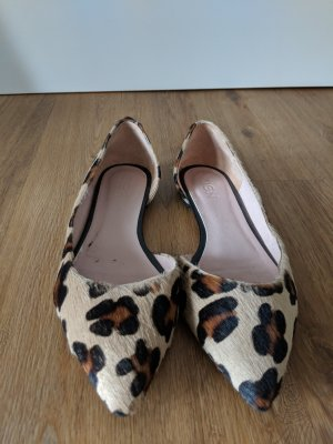 Zign Leopard Ballerinas Leder Fell - Fast nie getragen Gr. 41