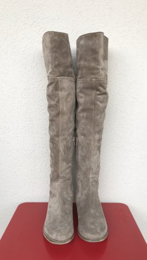 Zign Overknee Stiefel beige wildleder Gr.38