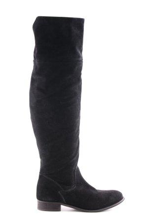 Zign Stivale cuissard nero stile casual