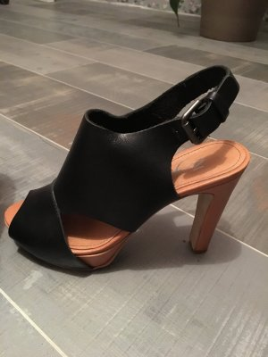 Zign Peeptoes Pumps schwarz Gr. 37