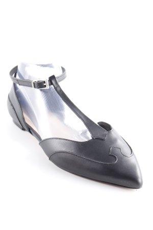Zign Riemchen-Sandalen schwarz schlichter Stil