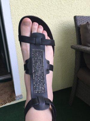 Zign Sandale schwarz