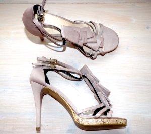 Zign Sandalette, wunderschönes Design - High Heel in rosé