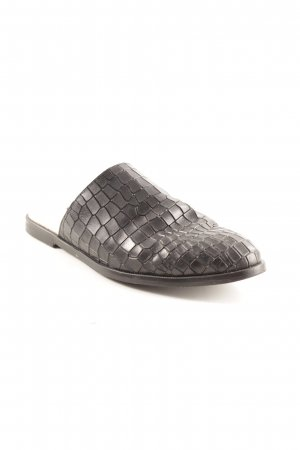 Zign Slipper schwarz Urban-Look