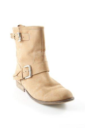 Zign Slouch Stiefeletten camel Boho-Look