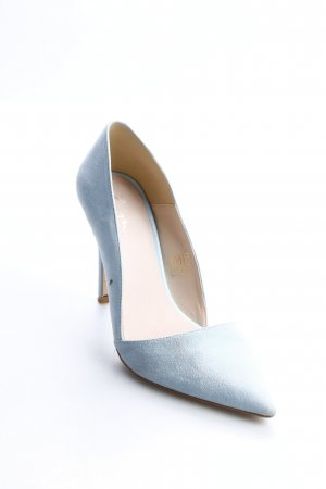Zign Spitz-Pumps babyblau Party-Look