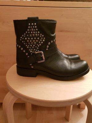 Zign Botas deslizantes negro Cuero