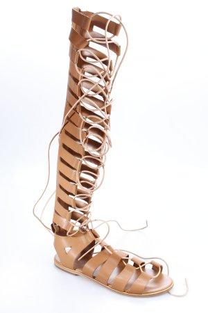 Zimmermann Sandalo romano marrone chiaro stile casual