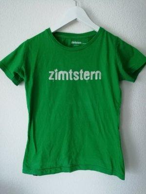 zimstern T-Shirt in grün