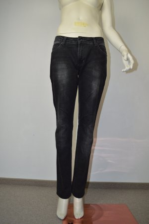 Zimtstern Jeans Gr. 30 grau Top