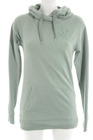 Zimtstern Kapuzensweatshirt khaki Casual-Look