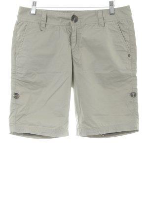 Zimtstern Shorts graubraun klassischer Stil