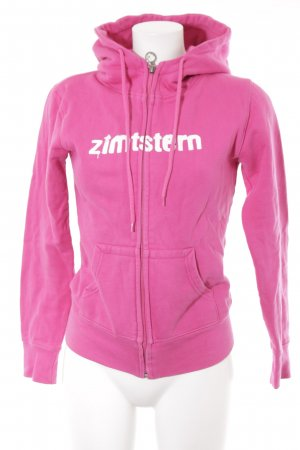 Zimtstern Sweatjacke pink sportlicher Stil