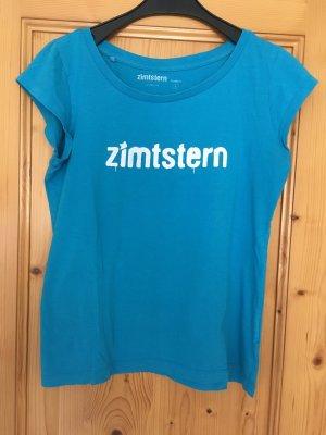 Zimtstern T-Shirt türkis