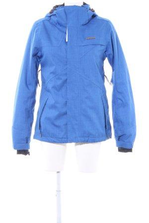 Zimtstern Windstopper blau Streifenmuster sportlicher Stil