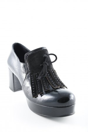 Zinda High-Front Pumps black leather-look