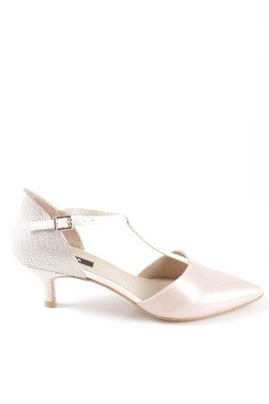 Zinda T-Strap Pumps silver-colored-pink elegant