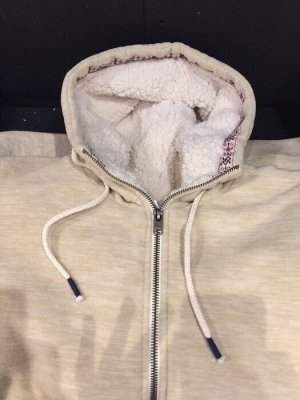Roxy Hooded Sweater oatmeal-white