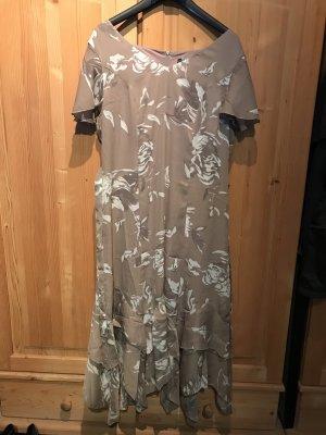 b.p.c. Bonprix Collection A Line Dress beige-white