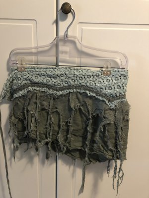 Wraparound Skirt sage green