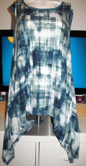 Vera Wang Batik shirt cadet blauw-wit