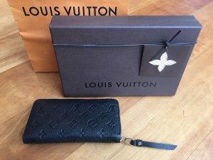 Louis Vuitton Cartera negro Cuero